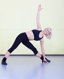 Woman exercising Stock Photography