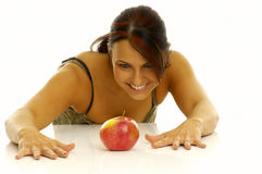 Woman exercising Stock Photo