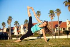 Woman exercising Royalty Free Stock Photo