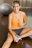 Woman exercising Royalty Free Stock Photography
