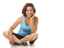 Woman exercising Royalty Free Stock Photo
