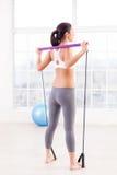 Woman exercising. Stock Photo