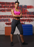 Woman Exercising at Gym Royalty Free Stock Photo