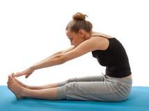 Woman exercising Stock Image