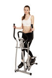 Woman exercising sports Royalty Free Stock Images