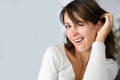 Woman expression Royalty Free Stock Photos