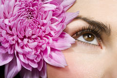 Woman eye Stock Photos