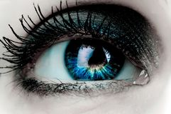 Woman eye Royalty Free Stock Photography