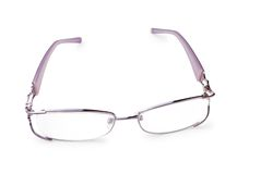 Woman eye glasses Stock Photography