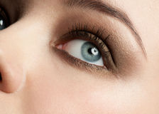Woman eye with make-up Stock Photo