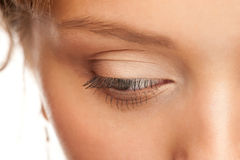 Woman eye with make-up Royalty Free Stock Images