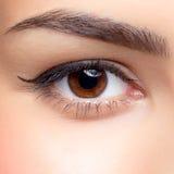 Woman eye make-up Royalty Free Stock Photography