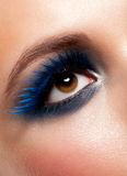 Woman eye with makeup Royalty Free Stock Photos