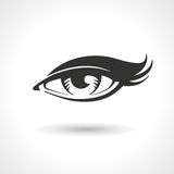 Woman Eye Vector Drawing Royalty Free Stock Images