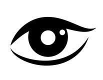 Woman eye vector icon Stock Photos