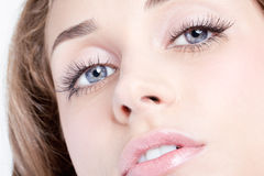 Woman eyes Royalty Free Stock Images