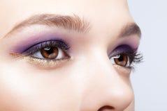 Woman eyes Stock Image