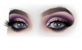 Woman Eyes Fashion Makeup. Detailed Illustration, Vector Royalty Free Stock Photo