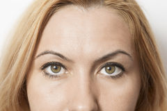Woman eyes Stock Photography