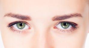 Woman eyes photo Royalty Free Stock Photo