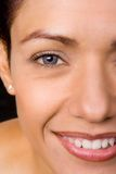 Woman Face. Close-up royalty free stock photography