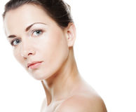 Woman face Stock Image