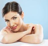 Woman face, beauty portrait. Stock Image
