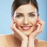 Woman face, beauty portrait. Stock Images