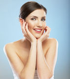 Woman face, beauty portrait. Royalty Free Stock Photography