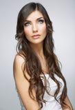 Woman face close up beauty portrait Stock Images