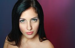 Woman face portrait Stock Photography