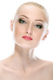 Woman face Royalty Free Stock Photography