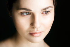 Woman face portrait Royalty Free Stock Photography