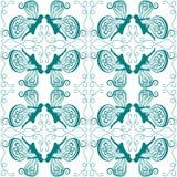Seamless Tile Fairy Silhouette Stock Photos