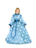 Woman in a fancydress Royalty Free Stock Image