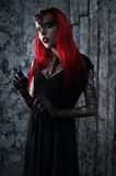 Woman in fantasy costume Royalty Free Stock Photos