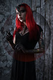 Woman in fantasy costume Royalty Free Stock Images