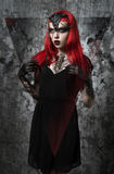 Woman in fantasy costume Royalty Free Stock Photo