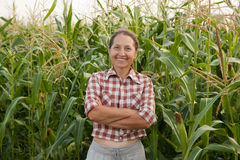 Woman farmer stock images
