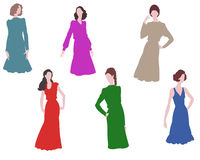 Woman and fashion Royalty Free Stock Photo