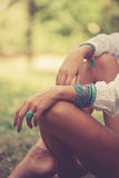 Woman fashion accessories Stock Image