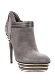 Woman fashion boot Royalty Free Stock Photo