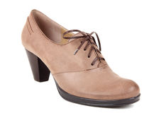 Woman fashion boot Royalty Free Stock Photos