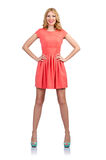 Woman in fashion clothing Royalty Free Stock Images