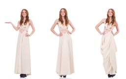 The woman in fashion clothing concept Stock Photo