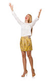 Woman in fashion Royalty Free Stock Photography