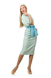 Woman in fashion clothing Royalty Free Stock Photography