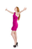 Woman in fashion Royalty Free Stock Images
