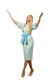 Woman in fashion Royalty Free Stock Photo