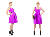 Woman fashion concept Royalty Free Stock Images